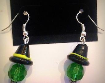 Beaded Witch Earrings