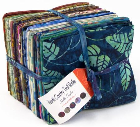 North Country Trail Batiks By Holly Taylor For Moda Fat
