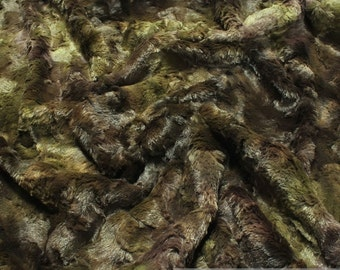 fabric polyester fur camouflage fake fur faux fur soft precious