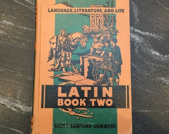 Antique Latin Book Two- Textbook 1937