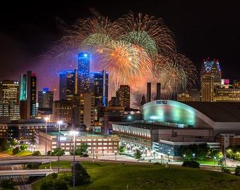 Detroit Fireworks