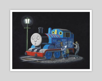 Thomas by Banksy Giclée Art Print