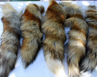 how to make a fox tail keychain