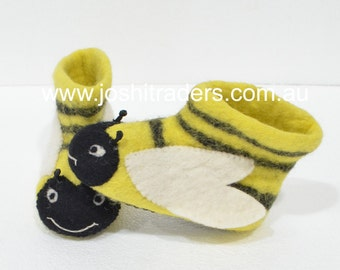 Warm felt slippers boots winter boots for children animal slippers ugg boots felt slippers nepal warm handmade slippers kids felt slippers