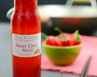 Homemade Sweet Chilli Sauce