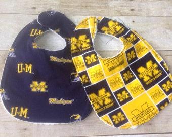 University of Michigan Bibs