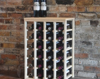 24 Bottle Table Wine Rack (Pine) by VinoGrotto