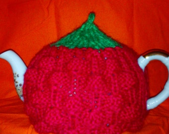 Teapot Cozy teapot warmer  Hand Knit. Tea Lover Gift Idea For Any Tea Lover teapot accessory