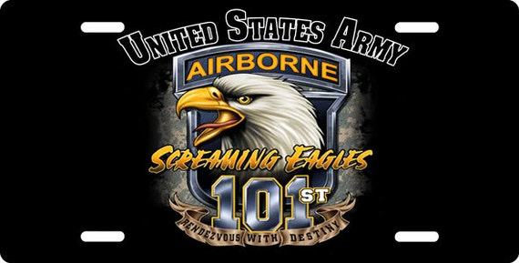 101st Airborne Screaming Eagles License By