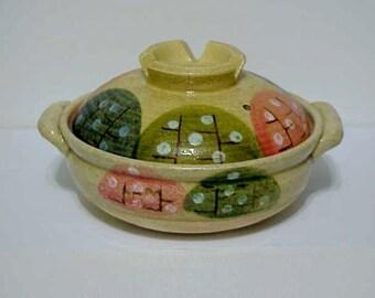 Donabe -Japanese Serving Lidded Studio Pottery