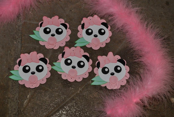 Items Similar To Baby Shower Micro Panda Decorations Set