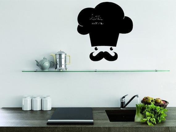Lavagna adesiva adesivi murali cucina wall decals lavagna - Lavagna per cucina ...