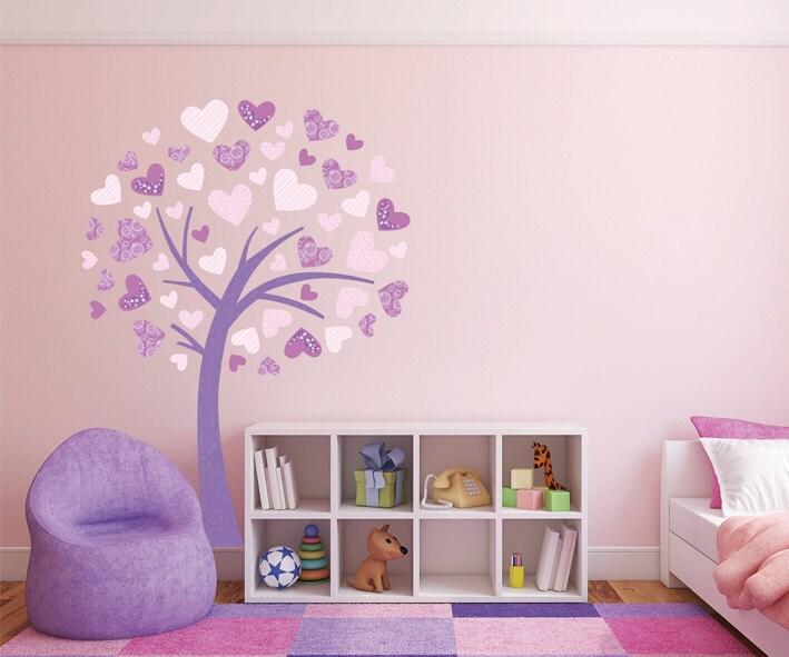 Albero adesivo da muro cameretta bambini wall decal wall - Disegni su parete per camerette ...