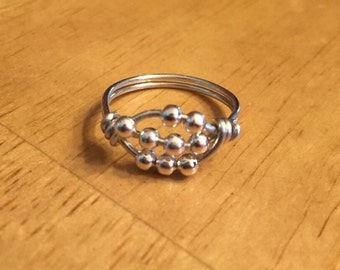 Worry Ring, Anxiety Ring, Stress Ring, Meditation Ring, Spinner Ring