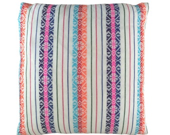 """20"""" Mexican Aztec Print Pillow Cover"""