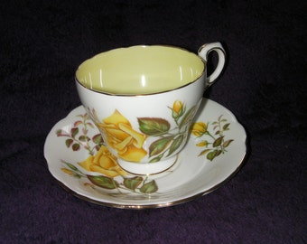 Vintage, PARAGON, Fine Bone China Cup and Saucer, collectable. 'SUNSET' Made in England