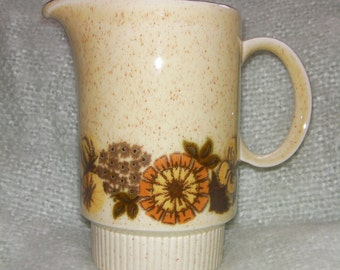 Vintage Poole Pottery, 'Thistlewood' Milk Jug/Creamer, Collectable. Made in England