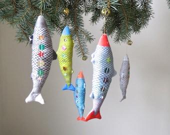 Fish Ornament - Sparkly Sequins