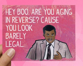 Tom Haverford Parks and Rec Funny Love Card