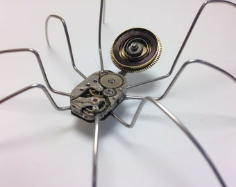 Piece #011 Kyto the Steampunk Watchpart Spider