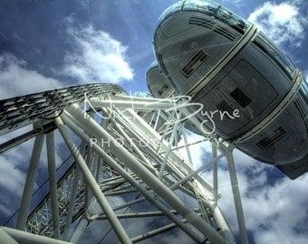 Eye pod, london eye, London, wheel, pod