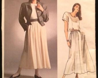 Vintage Designer Vogue 1914 Pattern - Perry Ellis - Size 12