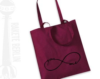 Tote Bag 'Infinity you and me'