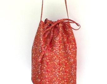 SALE Bucket Bag Japanese Brocade