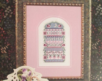 "ZERO SHIPPING! Just Nan ""Summer Night"" Cross Stitch Chart w/Embellishments"