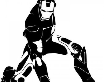 Iron Man Vinyl Decal