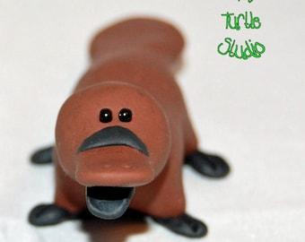 Polymer Clay Platypus