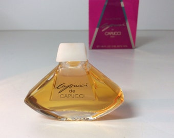 "Perfume mini ""Capucci"" by Cappuci, made in France"