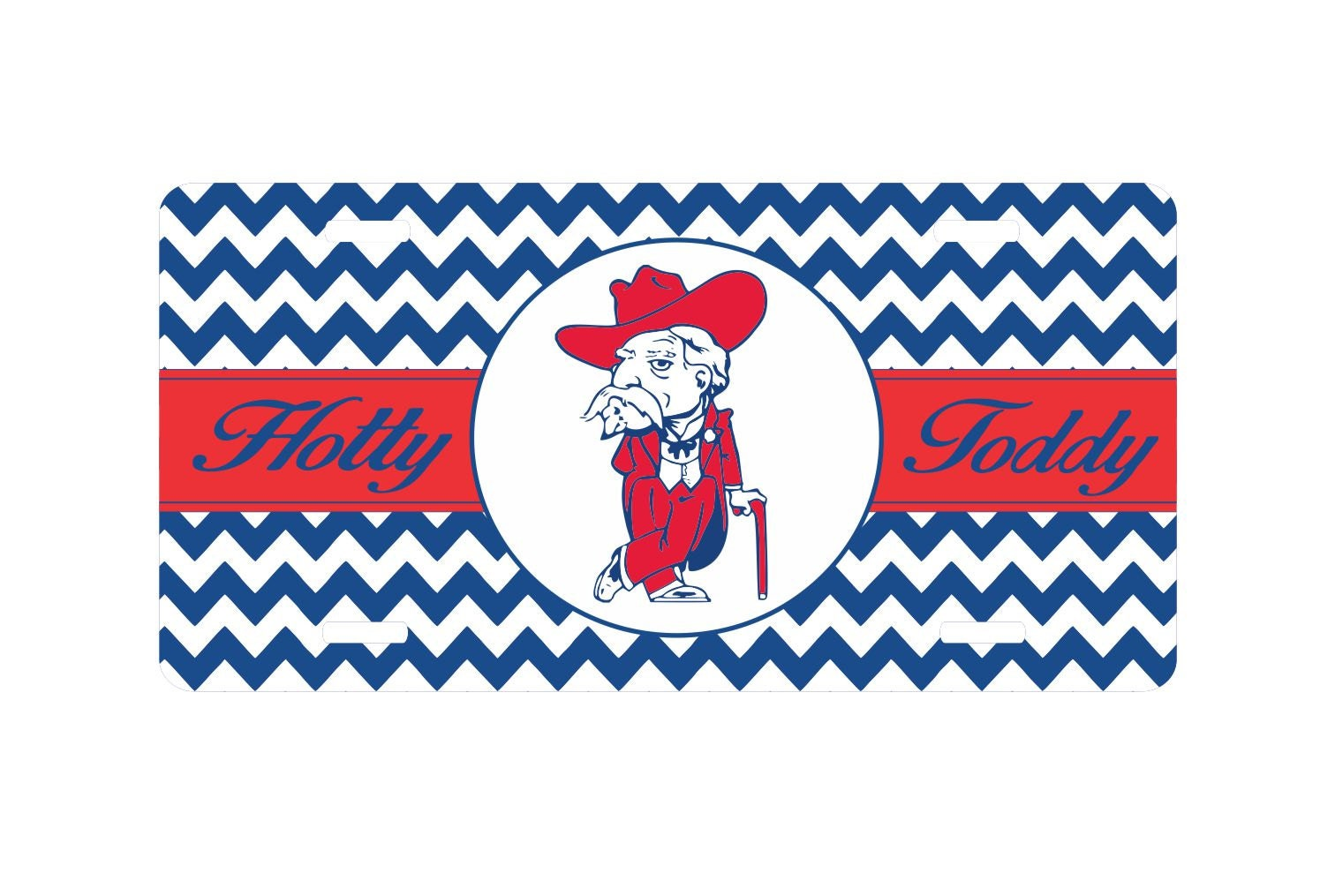 Mississippi Car Tag Ole Miss Rebels Car Tag Hotty Toddy
