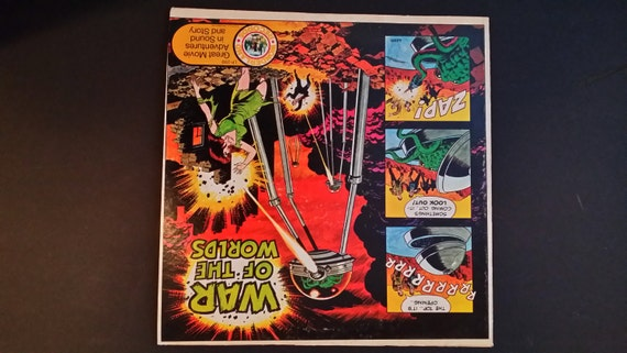 War of the Worlds Audio Record, 1974