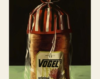 Limited Edition Vogels Giclee Print