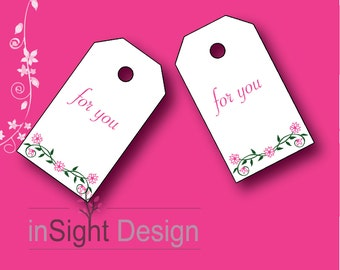 1.5x2.5 Gift Tags (for you)