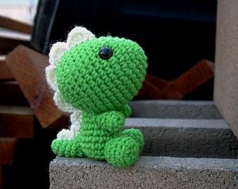Tino | Digital Crochet Pattern | Amigurumi Dinosaur