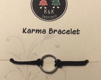 Black Karma Bracelet