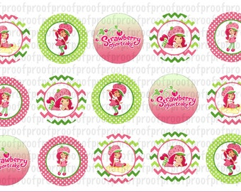 Strawberry Shortcake Bottle Cap Images
