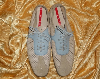 Genuine Prada shoes!! Genuine leather - Made in Italy