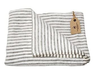 Linen beach towel KASPER, FREE shipping
