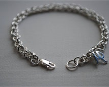 Sterling Silver Bracelet, Yellow Gold, White Gold, Rose Gold, Spiral Chain, Mother Daughter Bracelet, Charm Bracelet, Personalised, Handmade