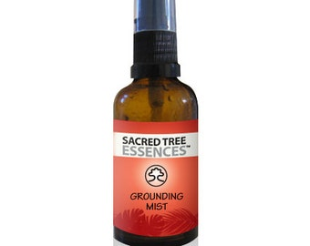 GROUNDING MIST Shamanic Aura & Space Spray a synergy of  sacred Amazonian master plants, essential oils and icaros, medicine songs.
