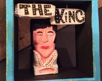 The King Shadow Box Diorama