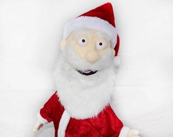 Santa Claus Rod Arm Puppet