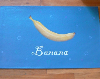 Banana Floorcloth
