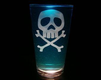 Captain Harlock Pint Glass