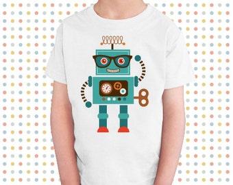 The nerdy robot t-shirt