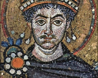 24x36 Poster; Justinian I The Great Byzantine Empire