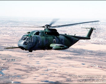 24x36 Poster; Usaf Hh-3E Jolly Green Giant